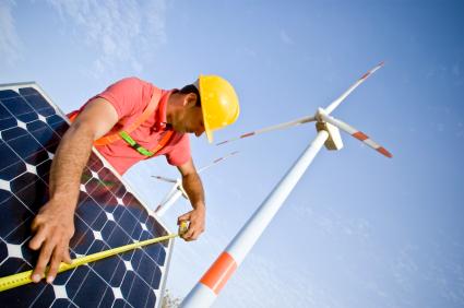 Klimawandel und Energie, Solaranlagen